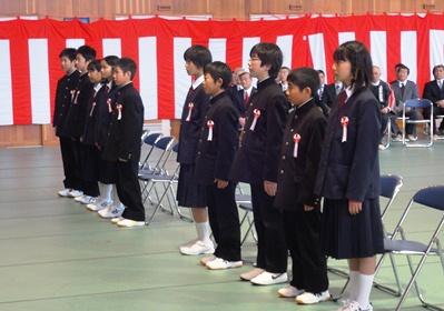 中学新入生